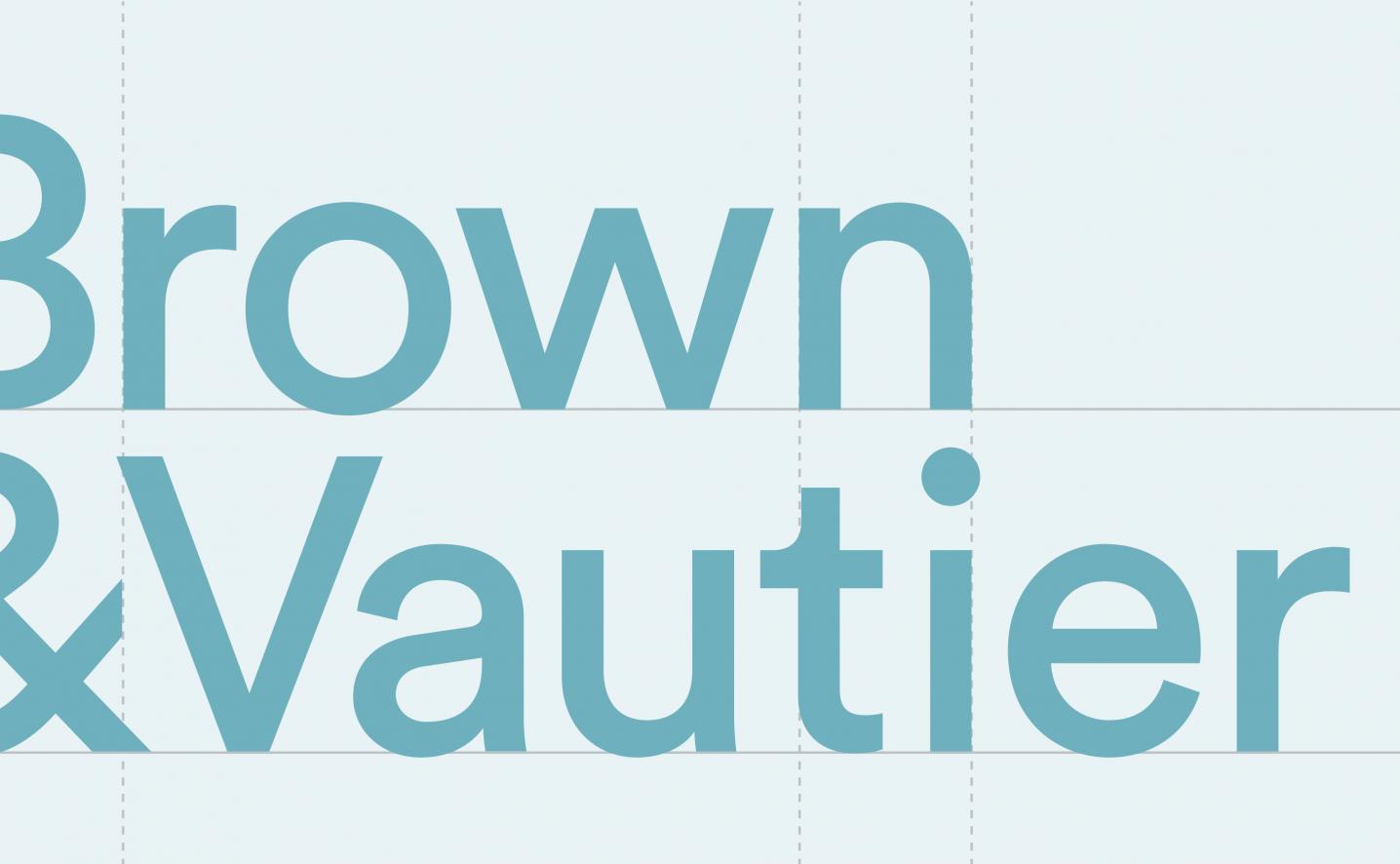 Brown-Vautier-logo-wordmark-design