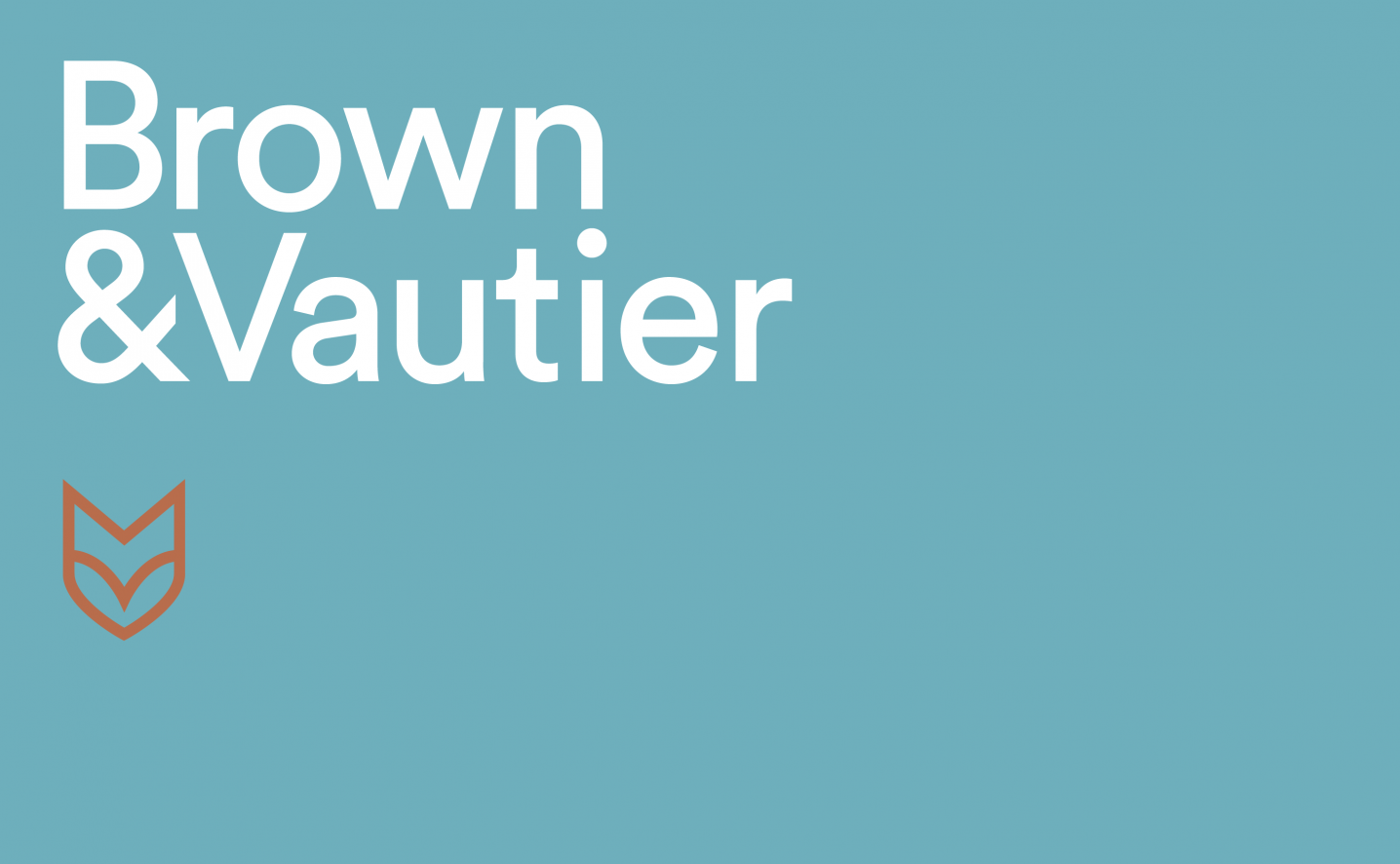 Brown & Vautier Logo design by Ascend Studio