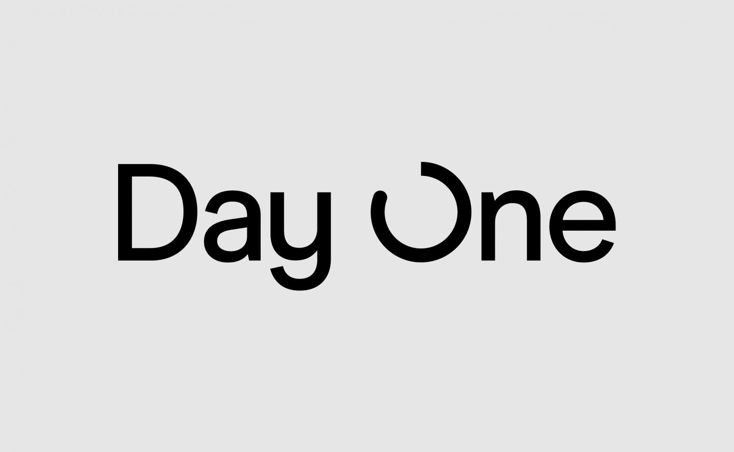 DayOne logo design