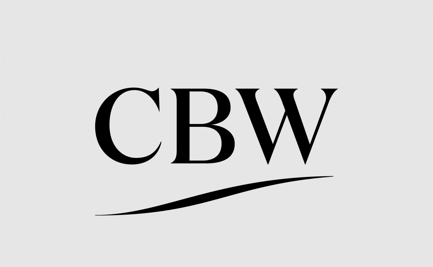 CBW logo design