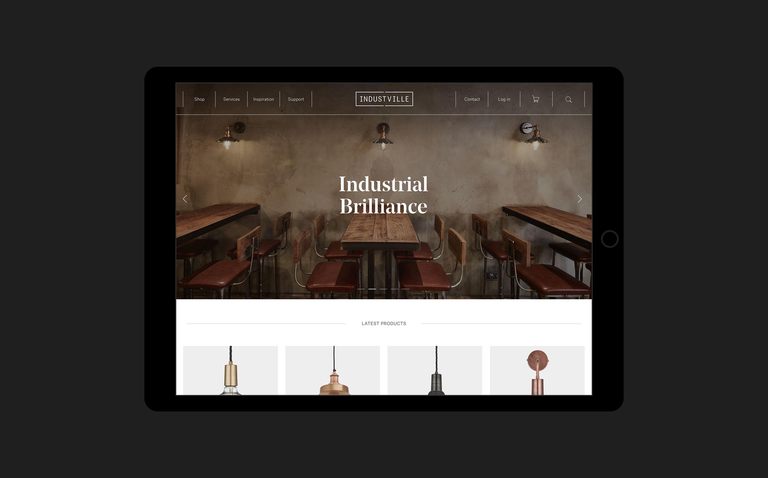 industville-tablet-homepage-design