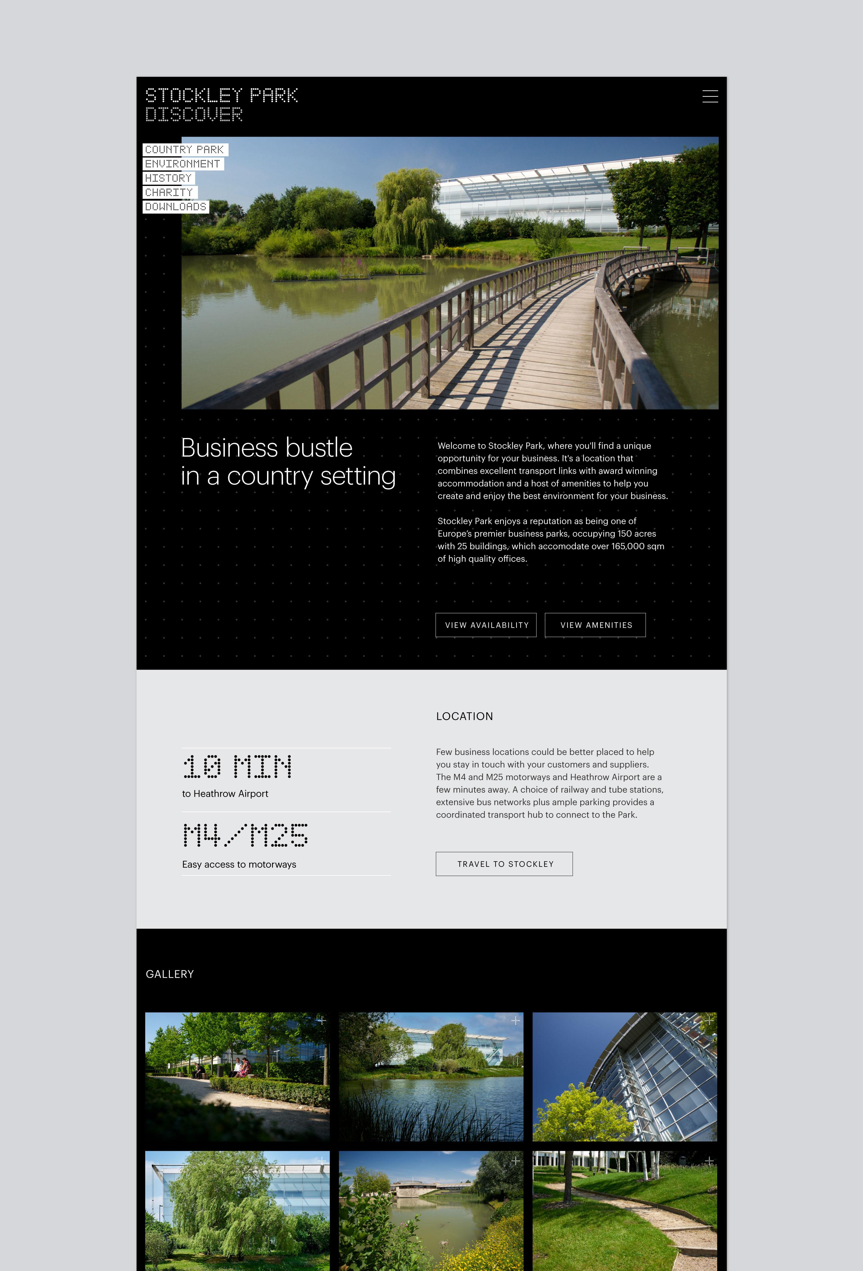stockley park website discover