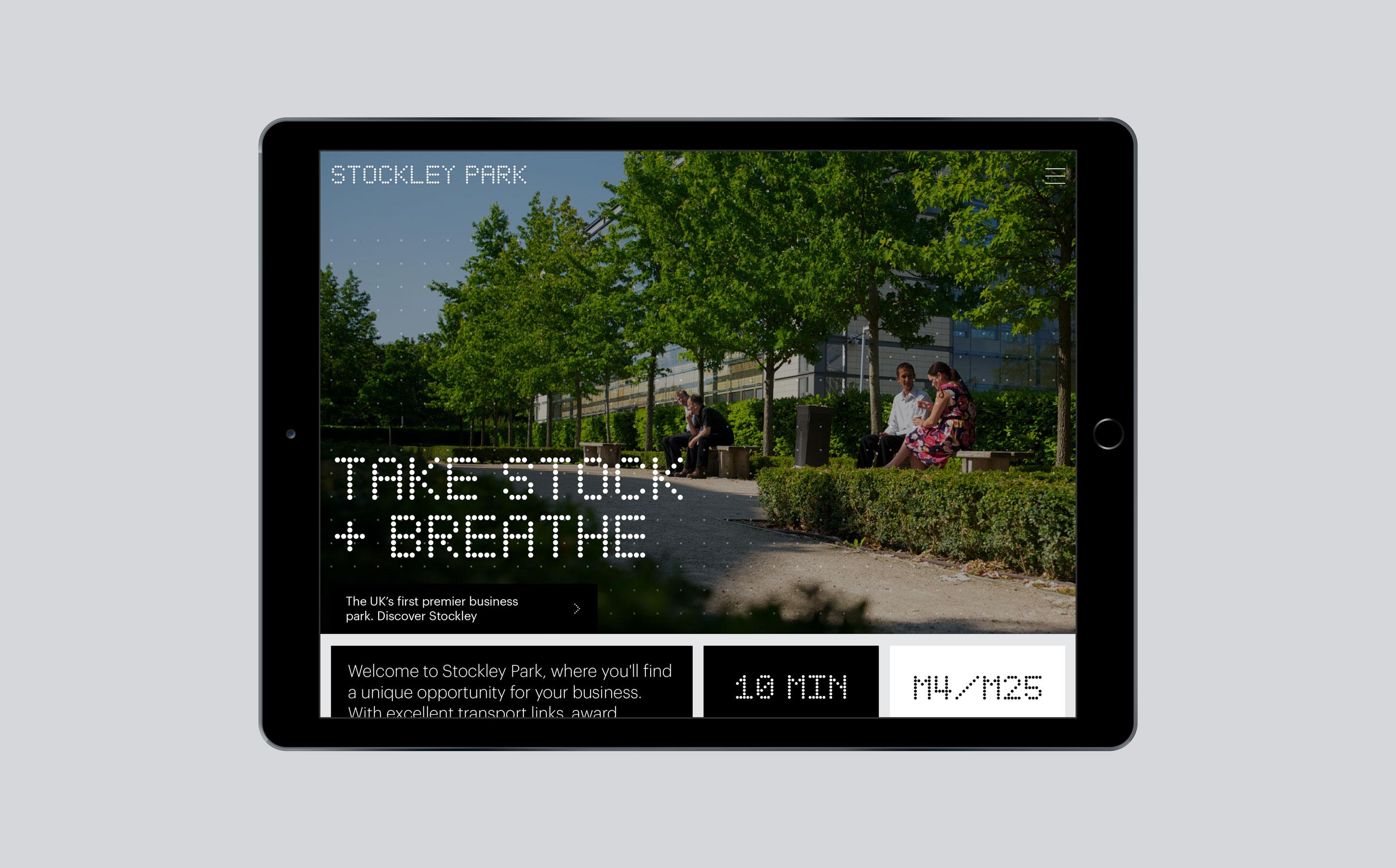 stockley park website home