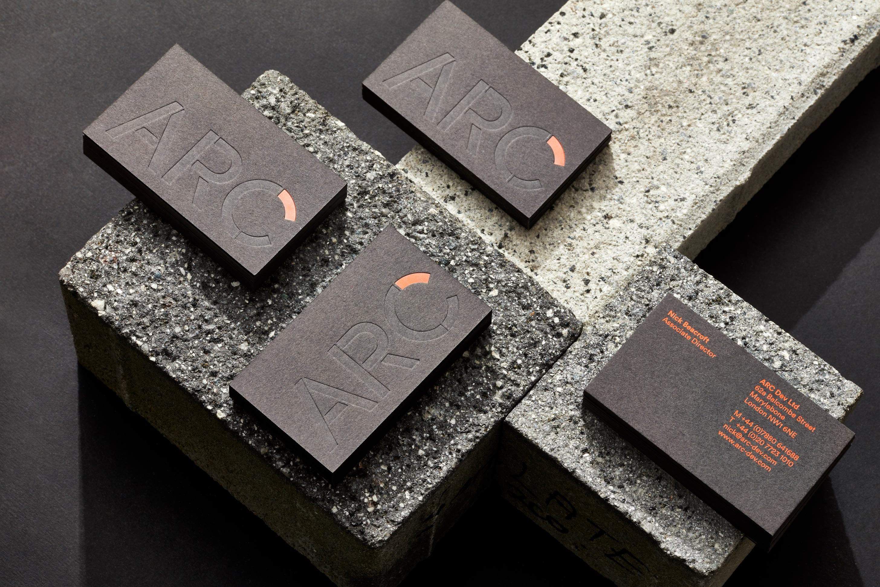 ARC architecture business cards 01