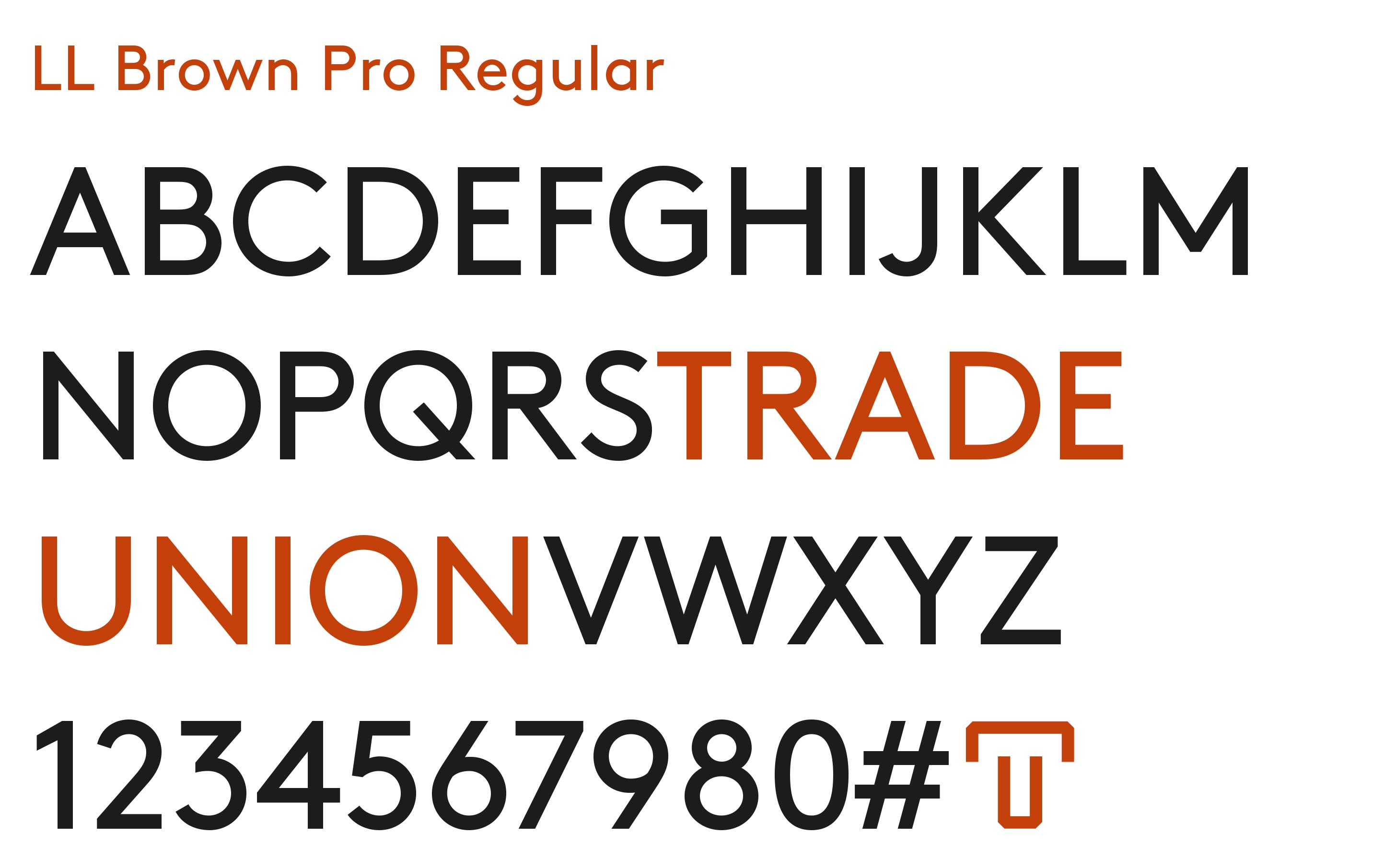 trade-union-typeface