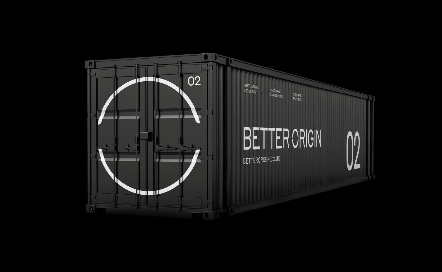 Better origin brand identity container
